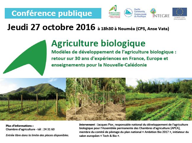 Une mission pour l'agriculture bio