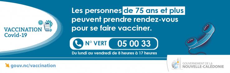 vaccination 75 ans et plus