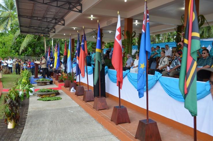 La cérémonie d'ouverture du 47e Sommet du FIP.