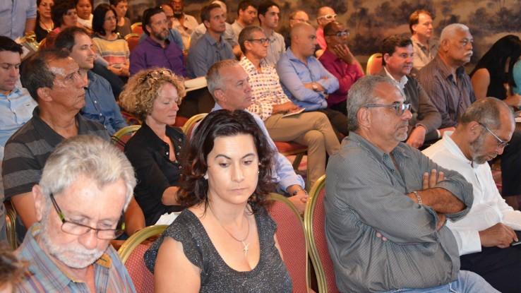 La rencontre a réuni environ 70 participants parmi lesquels de nombreux représentants des EPL qui clôturaient ainsi leur séjour en Nouvelle-Calédonie.