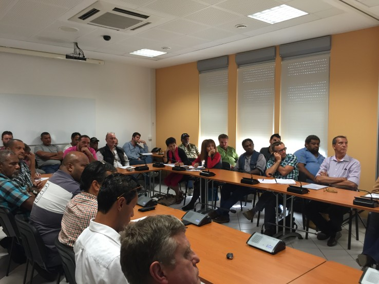 Une trentaine de professionnels du BTP a participé à cette rencontre.