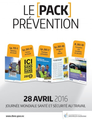 journée mondiale santé et sécurité au travail 2016