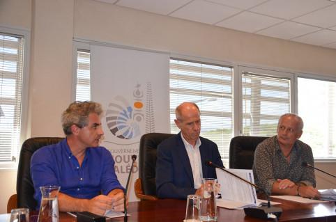 Érick Roser, vice-recteur, directeur général des enseignements, Romain Capron, directeur de l'Enseignement, et Jean-Luc Bernard-Colombat, directeur de la formation agricole, sont revenus sur la réforme des enseignements généraux et professionnels.