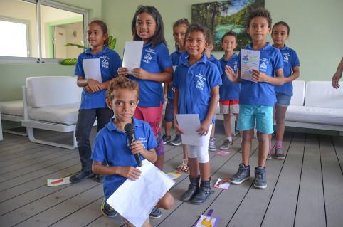 Les élèves se rendent à La Palmeraie par demi-groupes, deux fois par semaine. Leur dernière visite de l'année est prévue jeudi 26 novembre.