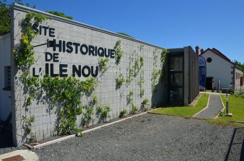 Le site historique de l'île Nou attend ses premiers visiteurs.