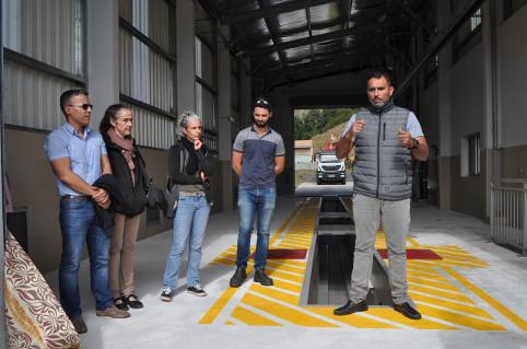Le directeur de la DITTT, Georges Selefen a présenté les installations du centre de contrôle technique.