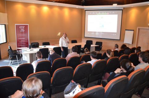 La conférence était animée par Philippe Di Maggio (DTE) et Olivier Marion (Cafat).