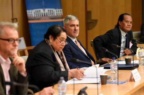 Yves Lafoy, délégué pour la Nouvelle-Calédonie en Australie.