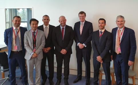 Rencontre avec Andrew Gee, ministre délégué au commerce et à l'investissement.