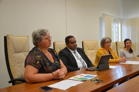 Le directeur et la directrice adjointe de l'IFPSS ont présenté la formation aux côtés de la DASS.