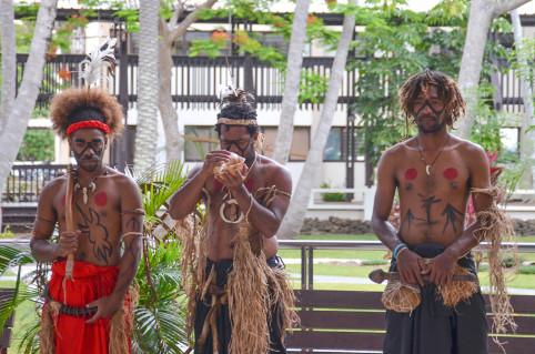 « Les peuples du Pacifique forts de leur culture ont entendu l'appel de la toutoute pour se rassembler et organiser la préservation et la conservation de leur patrimoine commun », a déclaré Jean-Pierre Djaïwé.