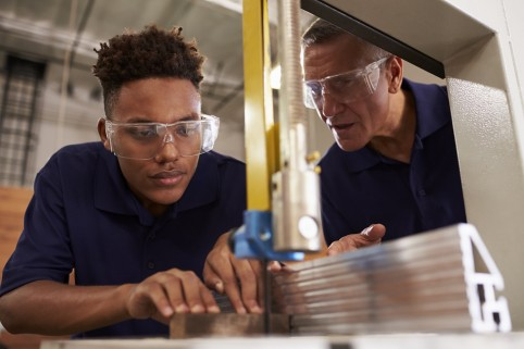 La réforme de l'alternance est inscrite dans le plan pour favoriser l'accès à l'apprentissage et l'insertion des jeunes par le travail.