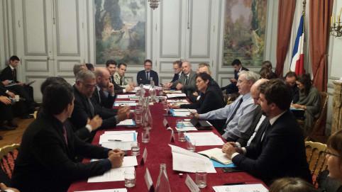 Le Comité France maritime outre-mer s'est tenu au ministère des outre-mer, rue Oudinot.