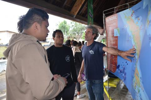 L'association Pala Dalik a présenté le réseau d'observation des récifs coralliens de Nouvelle-Calédonie (RORC).