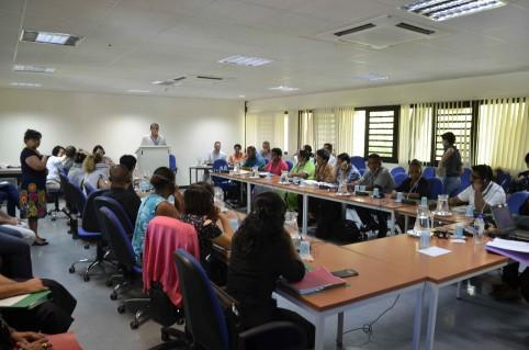 Les participants à la formation sur la leptospirose organisée par l'IPNC et la CPS.