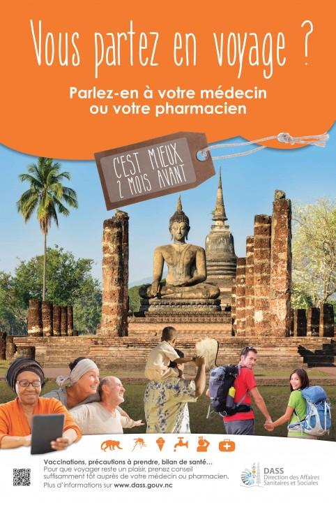 Plus de 400 Calédoniens reçus chaque année au centre santé et voyages