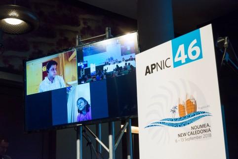 L'APNIC'46 a combiné 5 jours d'ateliers techniques au centre de formation de l'OPT et 3 jours de conférences au Méridien.