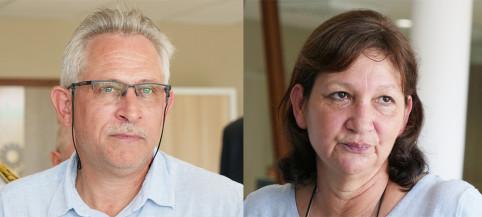 Laurent Madeline et Brigitte Rosemina sont les co-gérants de la menuiserie Beynetou.