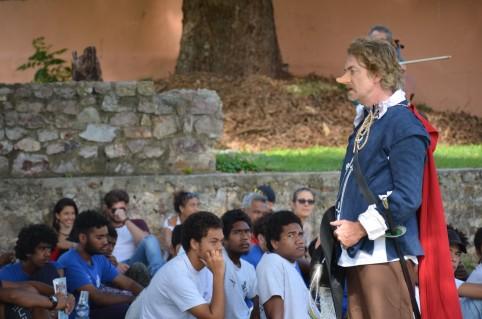 Le théâtre s'ouvre aux jeunes collégiens et lycéens, grâce à la francophonie.