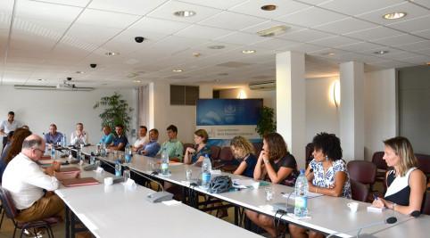 Tous les partenaires étaient présents : Dimenc, CCI, Ademe, AFD, entreprises membres du cluster Synergie…