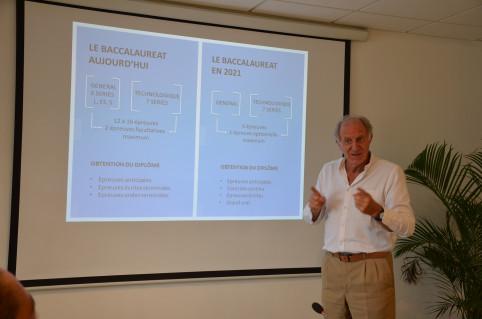 Jean-Charles Ringard-Flament a présenté les grandes lignes de la réforme le 26 février.