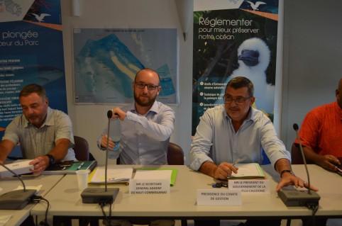 Le comité de gestion était coprésidé par Philippe Germain et Ulric de La Batut, secrétaire général adjoint du haut-commissariat.