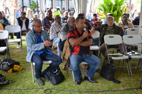 Didier Poidyaliwane a participé aux deux journées de réflexion.
