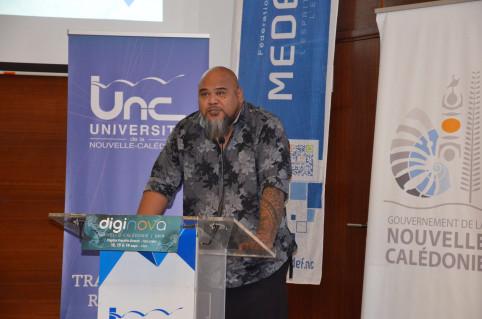« La transformation numérique de l'administration est l'opportunité d'évaluer et d'améliorer nos politiques publiques », a indiqué Vaimu'a Muliava.