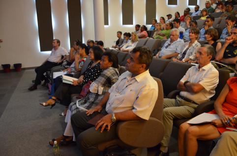 Restitution des États généraux aux comités de pilotage et technique, le 29 octobre au centre administratif de la province Sud.