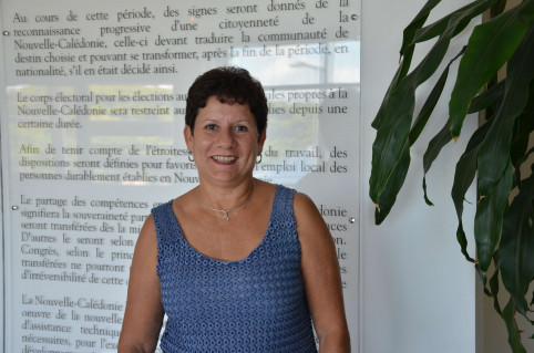 Yolande Verlaguet, directrice de la DENC.