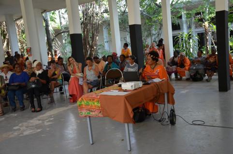 Le public était invité à faire des propositions.
