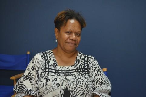 Adèle Poeda, 2e adjointe au maire de Ponérihouen.