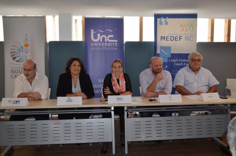 Les partenaires ont présenté l'opération Diginova 2019 aux médias le 1er août.