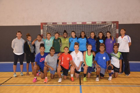 Cassidy, enfant du handball