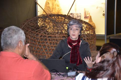 Marianne Tissandier a animé la formation au sein du Musée.