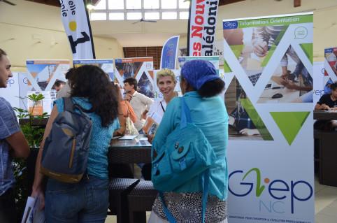 Informer, orienter et proposer des formations aux demandeurs d'emploi est l'une des missions du GIEP-NC.