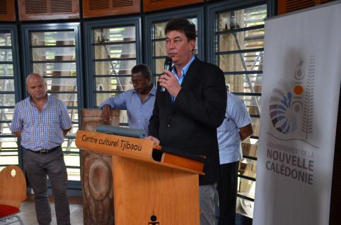 « Le centre culturel Tjibaou est un choix évident, tant il incarne le lien entre l'homme et la nature », a indiqué le président Santa.