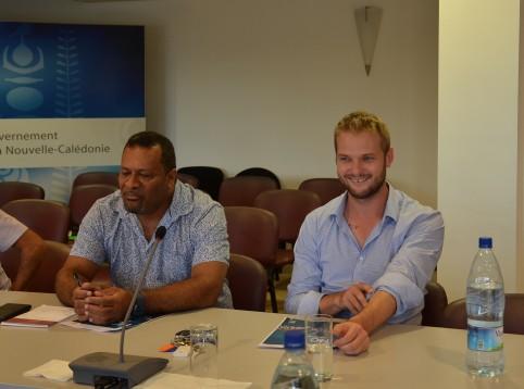 Didier Poidyaliwane et Nicolas Metzdorf ont présenté les objectifs du forum H2O à la presse deux jours avant son ouverture.
