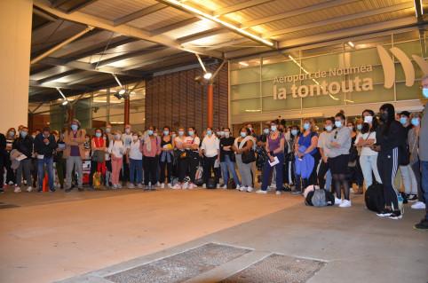 Le nouveau contingent s'élève à 103 personnes issues d'un peu partout en Métropole.
