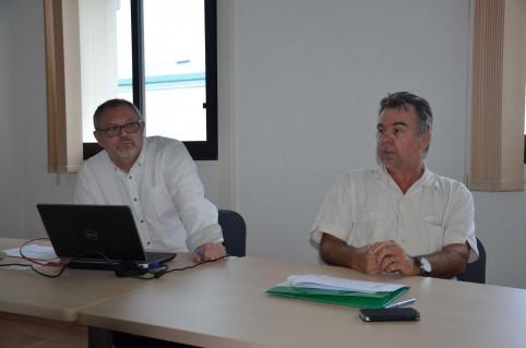Lionel Borgne et Gérard Colomina