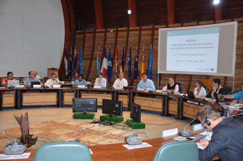 « C'est un programme ambitieux », a souligné le président Santa lors du lancement du premier comité de pilotage de PROTEGE.