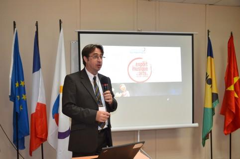 Éric-Normand Thiebault, délégué régional de l'OIF Asie-Pacifique.