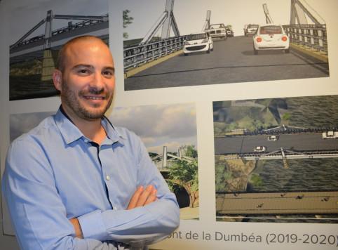 Julien Ledet est chef du service des routes à la DITTT.