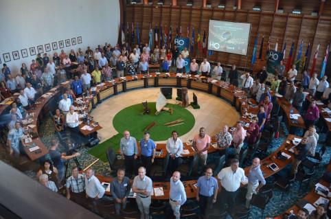 Plus de 300 personnes ont participé au premier Forum de l'eau, du 18 au 20 avril 2018.