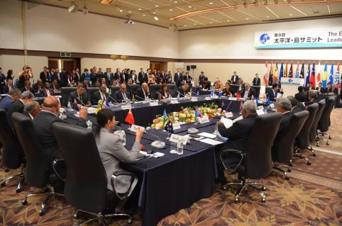 Le PAcific island Leaders Meeting (Palm) se déroule tous les trois ans.