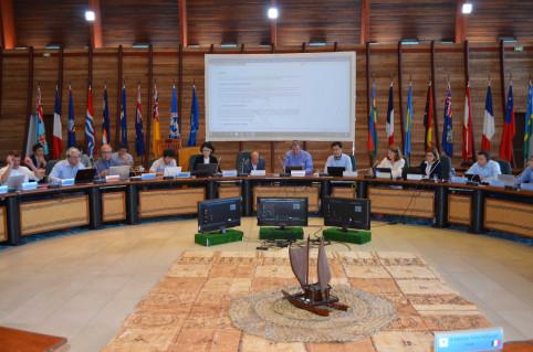 Séance de clôture de la 70e réunion du Conseil de l'AISM, à la CPS.