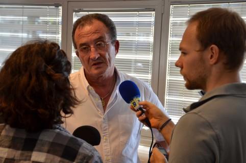 Bernard Deladrière, membre du gouvernement notamment en charge des assurances.