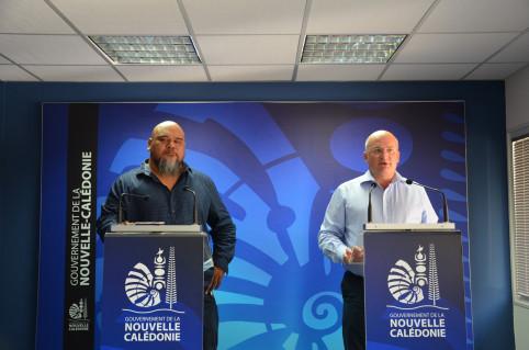 Yoann Lecourieux et Vaimu'a Muliava ont introduit les textes sur la construction arrêtés le 29 octobre.