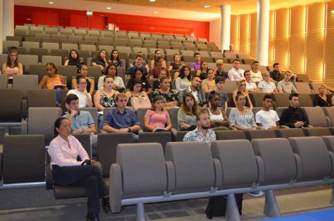 Séminaire de rentrée pour ces étudiants de l'Ecole de gestion et de commerce qui entament un parcours de trois ans.
