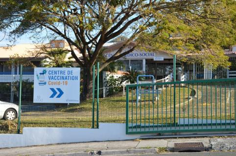Le centre de vaccination du Receiving a ouvert ses portes le 15 février.